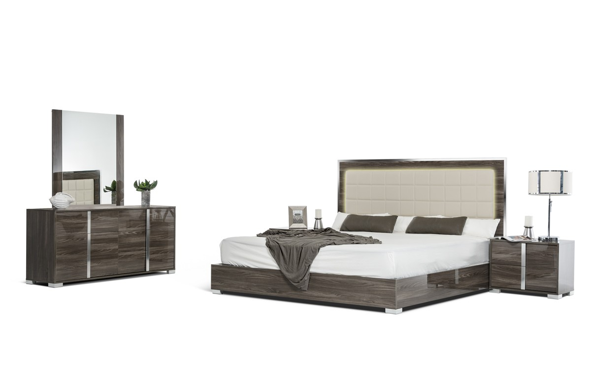 Nice San Marino Grey Bedroom Collection