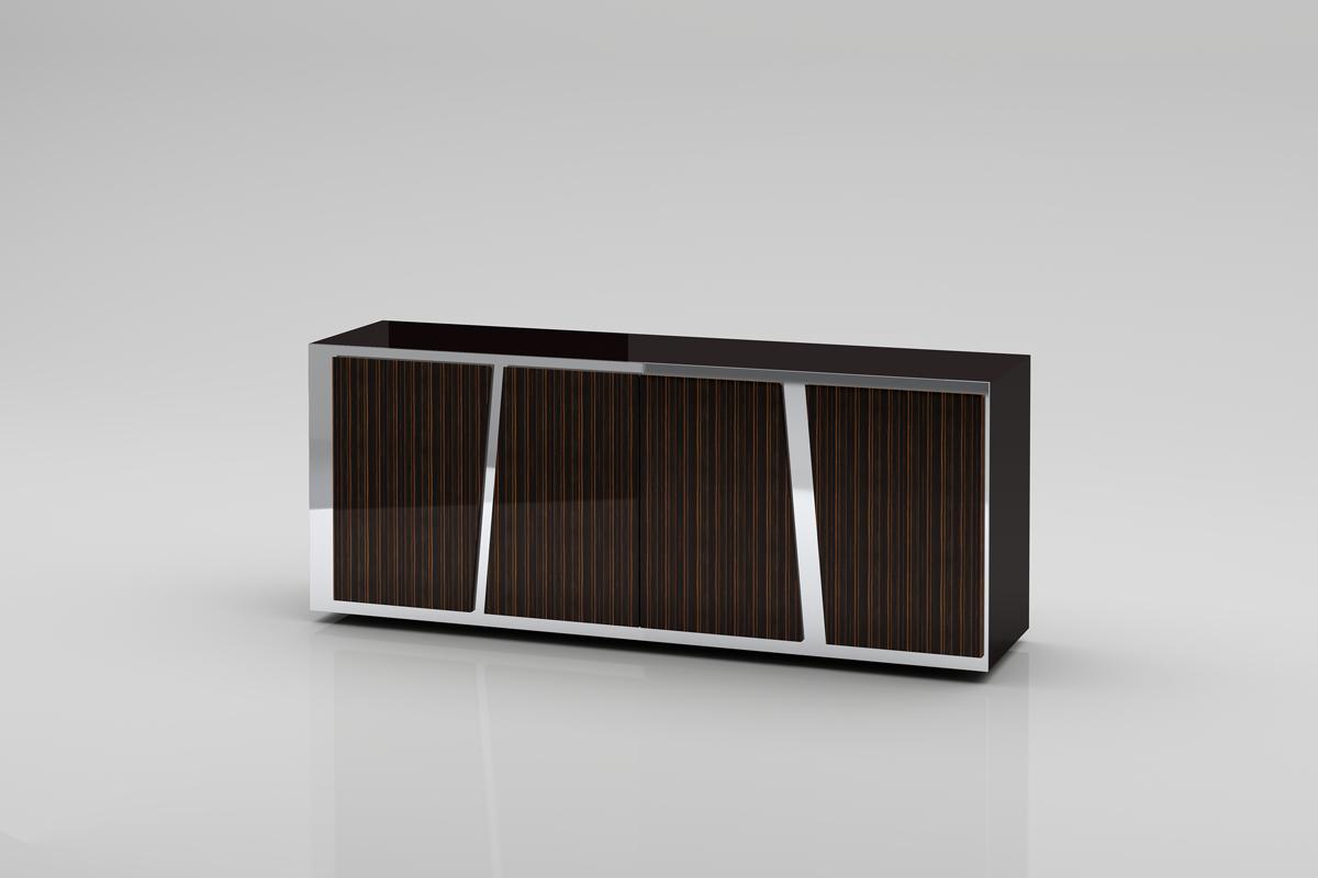 VIG Furniture Modrest Sherman Modern Ebony Buffet