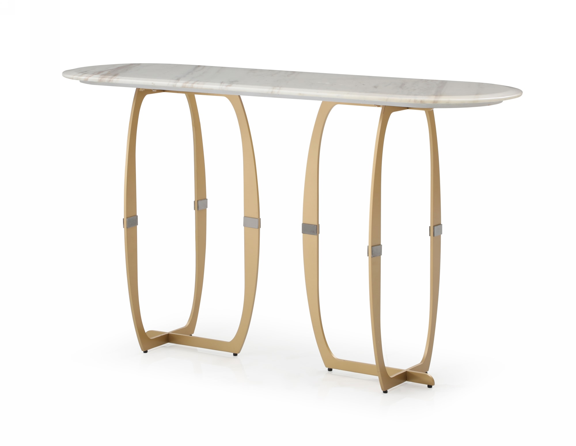 VIG Furniture Modrest Haven Modern Marble Console Table