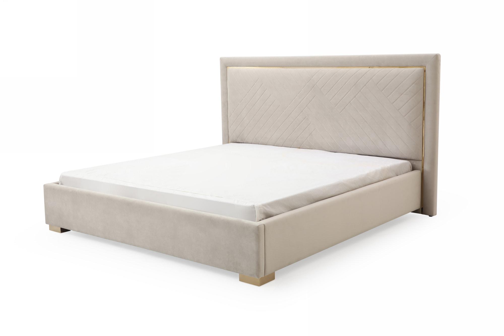 VIG Furniture Modrest Corrico Eastern King Modern Bed