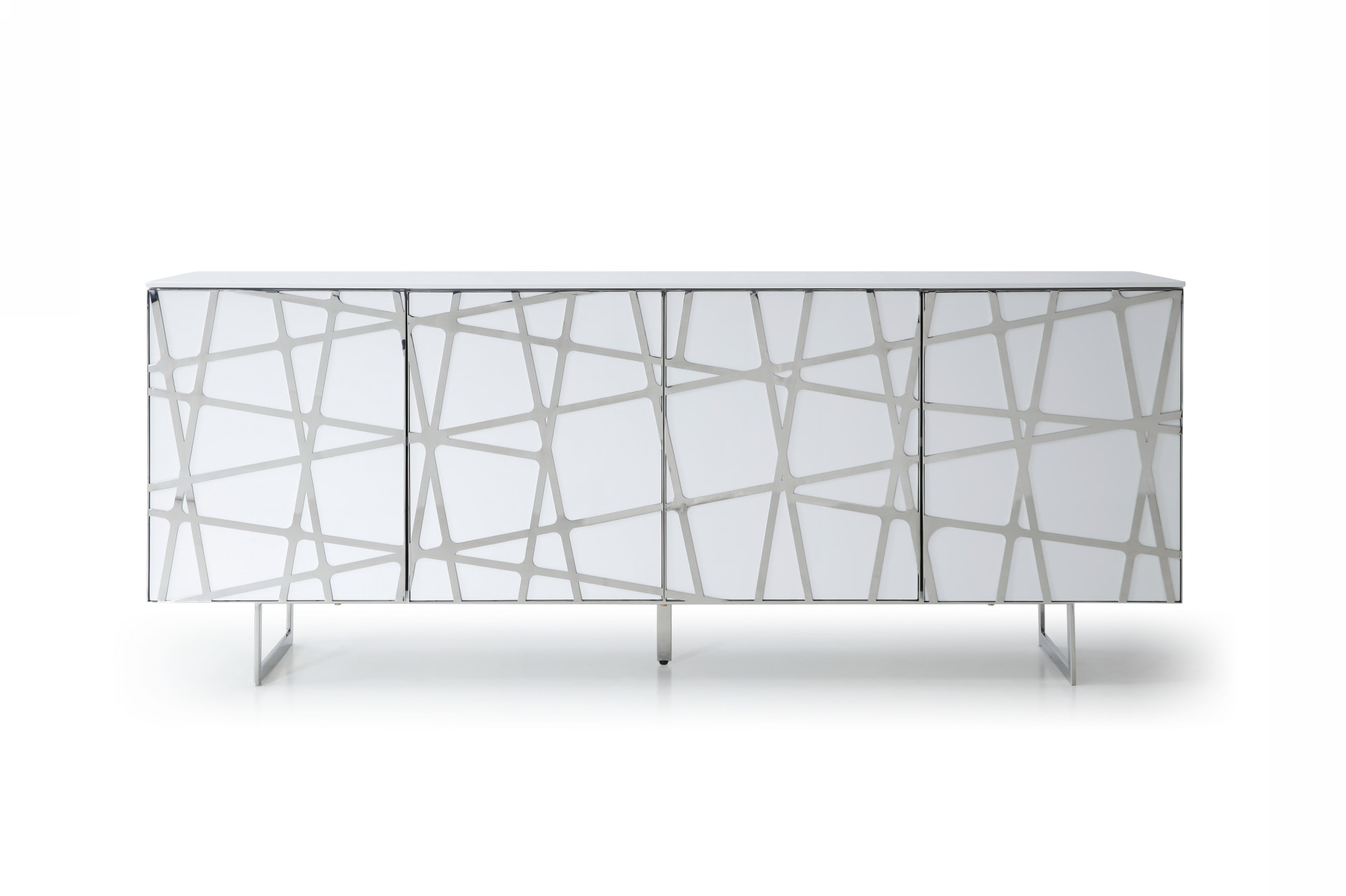 VIG Furniture Modrest Kilson Modern White Buffet