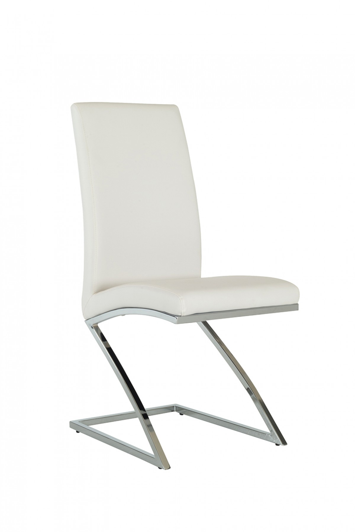 Angora Modern White Dining Chair Set Of 2