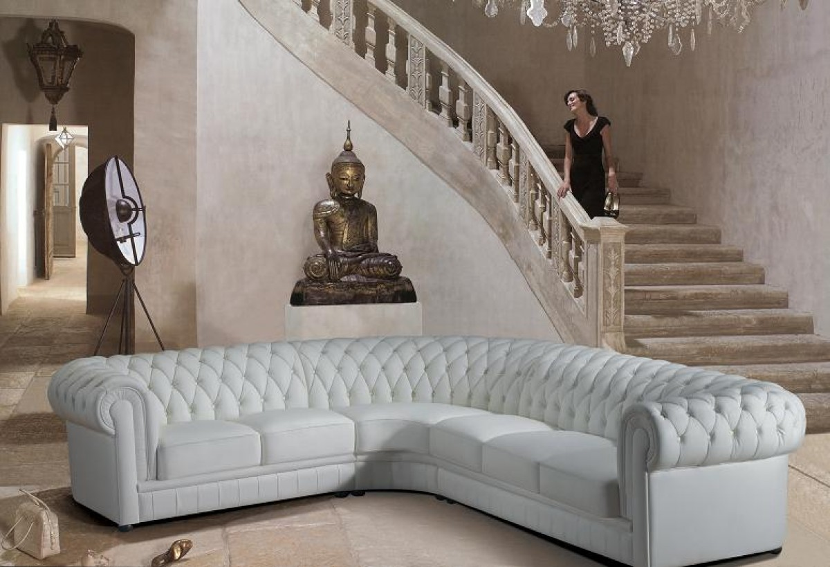 Tufted leather sectional sofa product was successfully added to your shopping cart go to cart page continue gallery image 103 gallery image 160