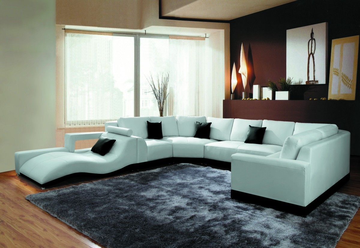 Divani Casa 2264B   Modern Bonded Leather Sectional Sofa ...