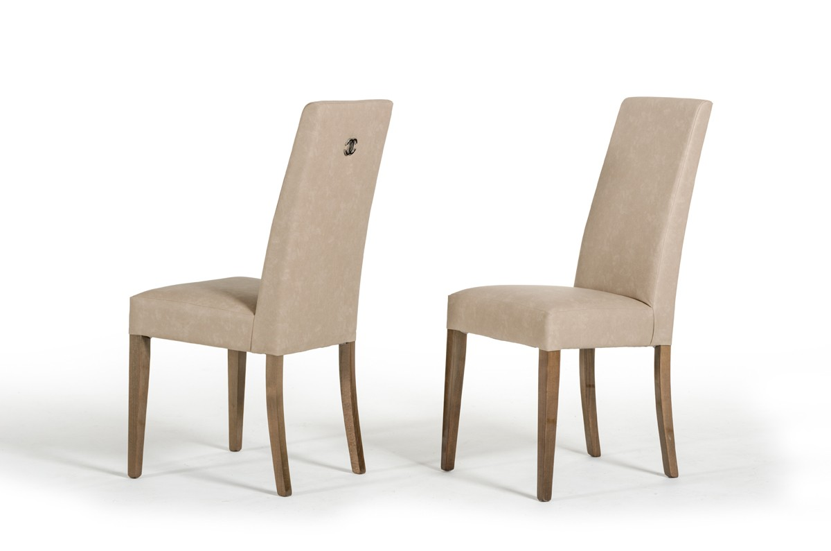 Modrest athen italian modern dining chair set of 2 for Italian dining chairs modern