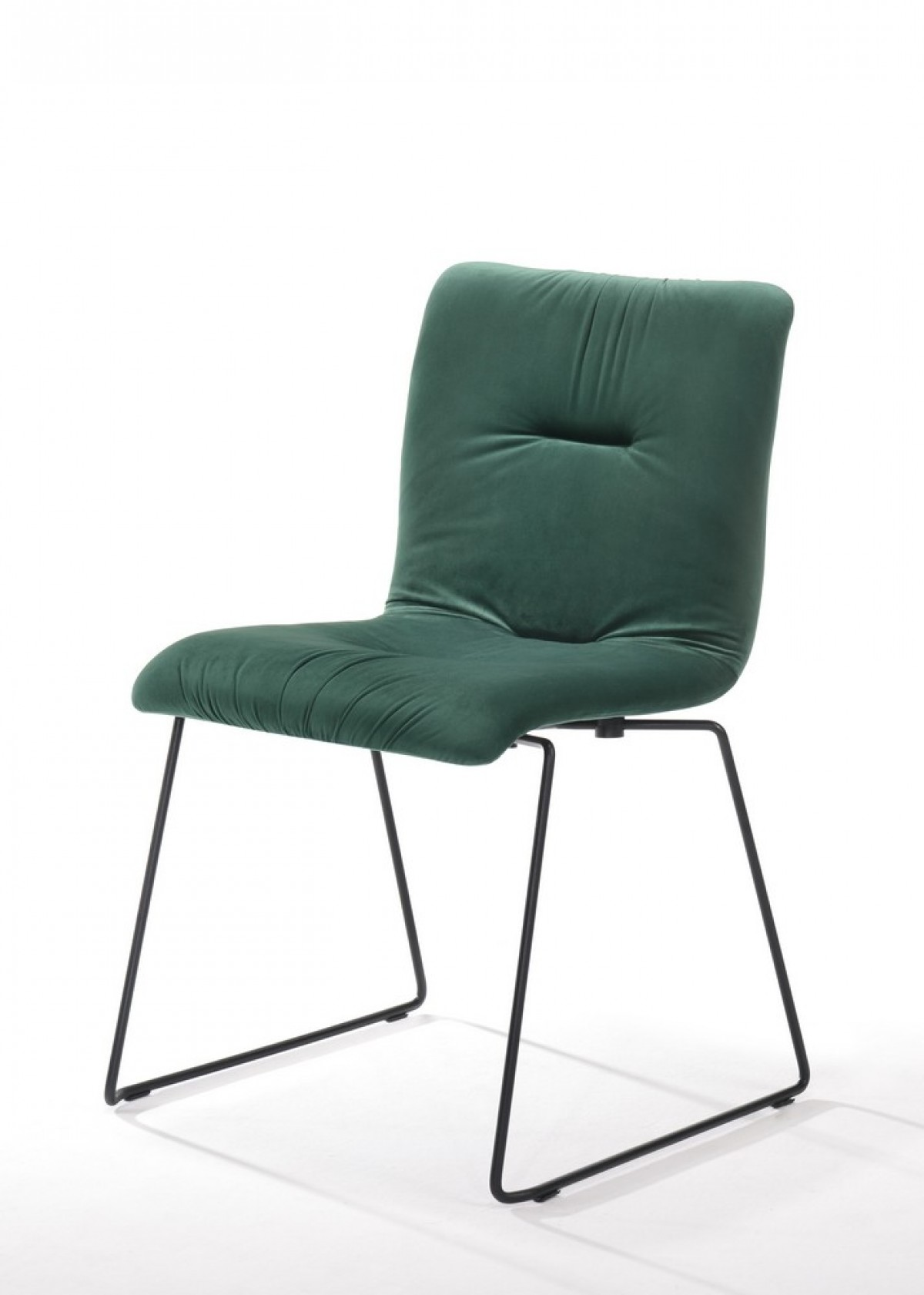 Swell Modrest Yannis Modern Green Fabric Dining Chair Set Of 2 Ibusinesslaw Wood Chair Design Ideas Ibusinesslaworg