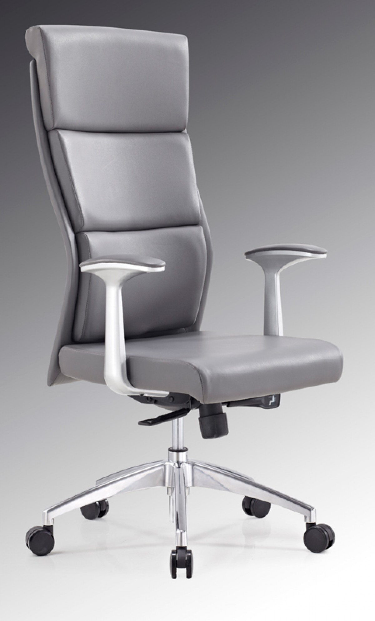 Modrest Ellison Modern Grey High Back Office Chair Office Chairs Office