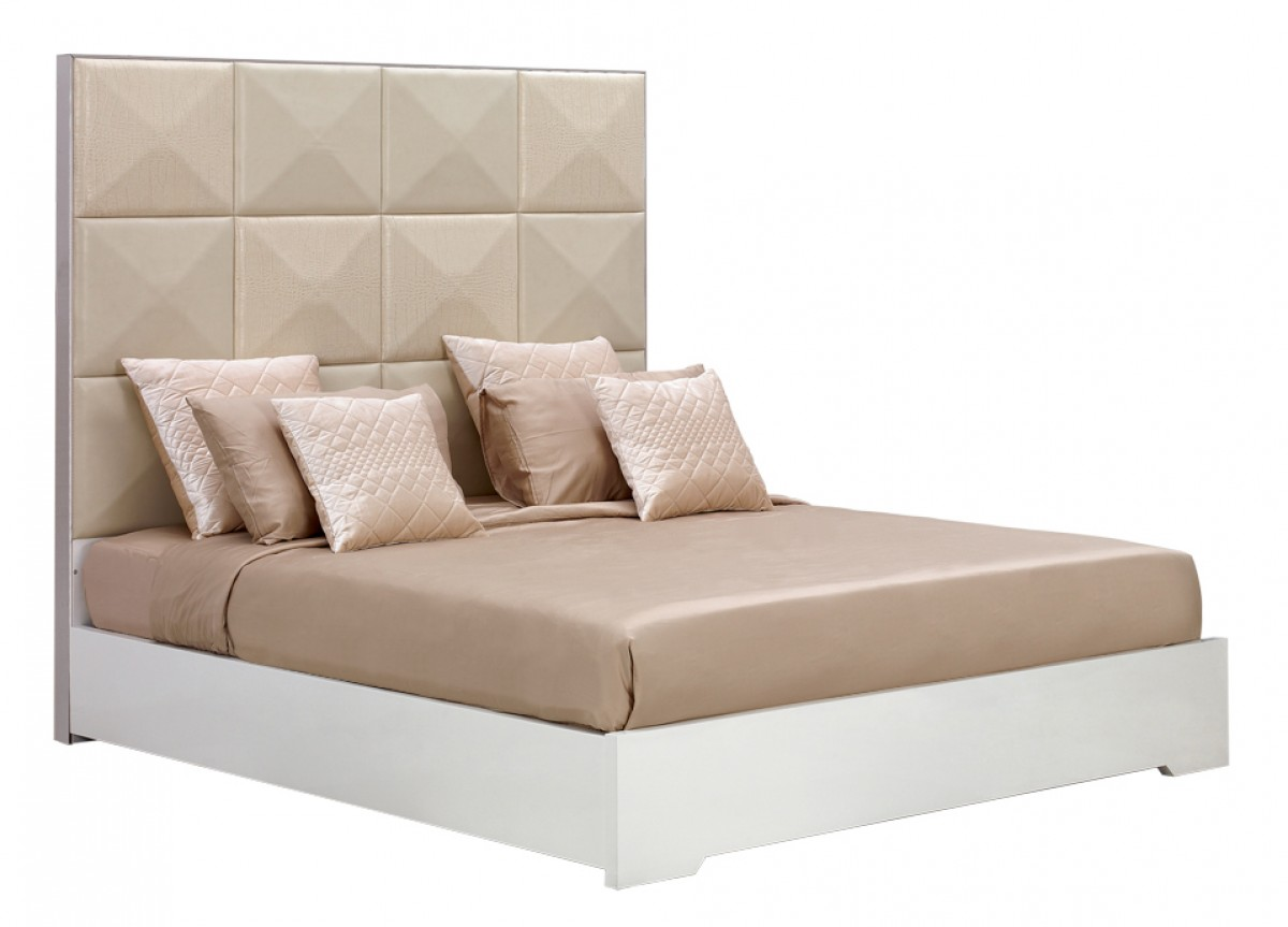 Picture of: Temptation Ariel High Headboard Modern Bed