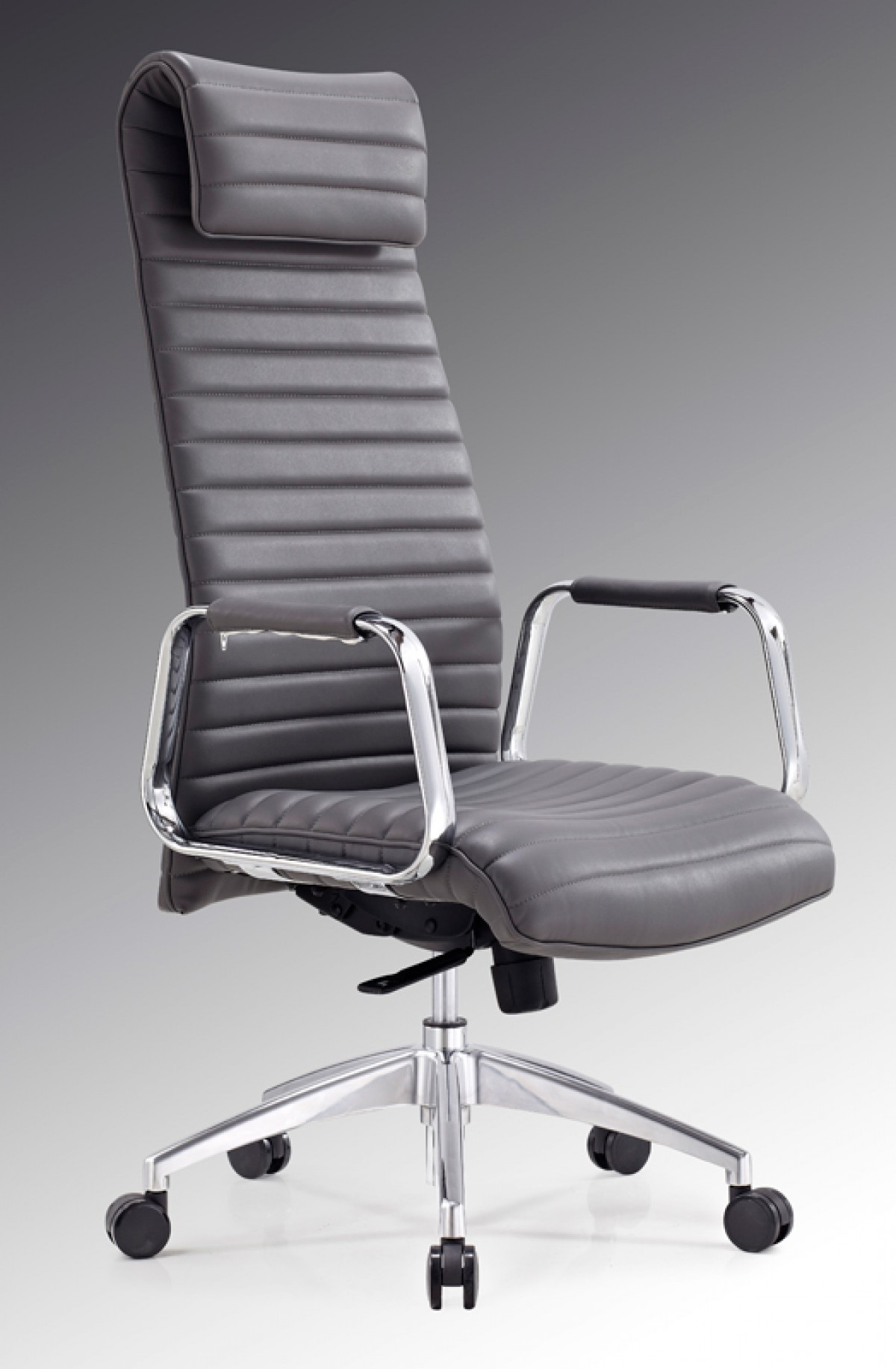 Modrest Mayer Modern Grey High Back Office Chair Office Chairs Office