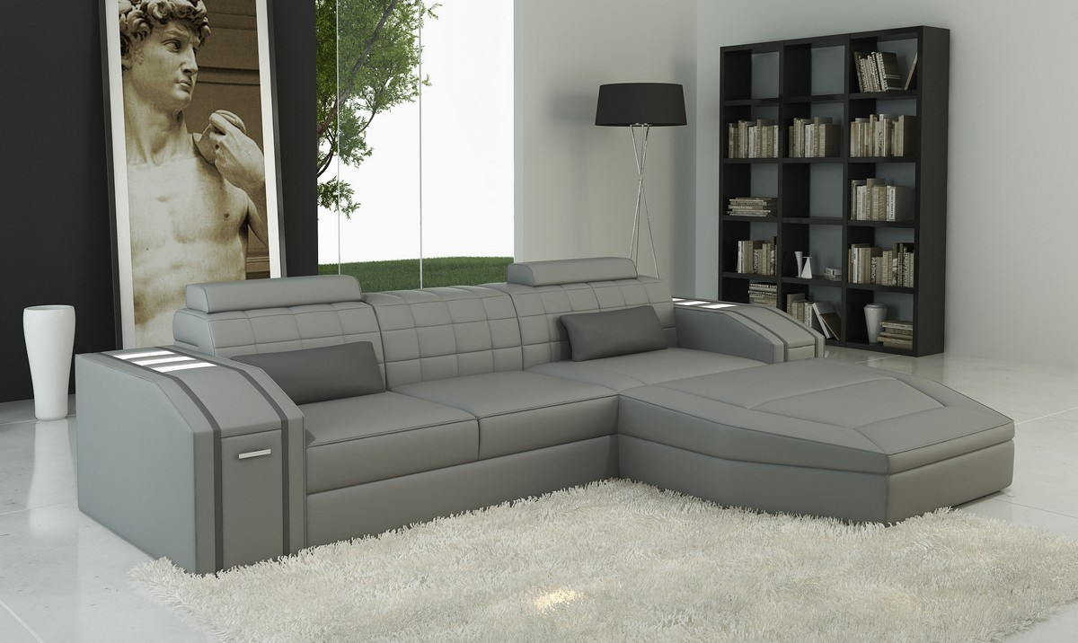 Outdoor Leather Sofa