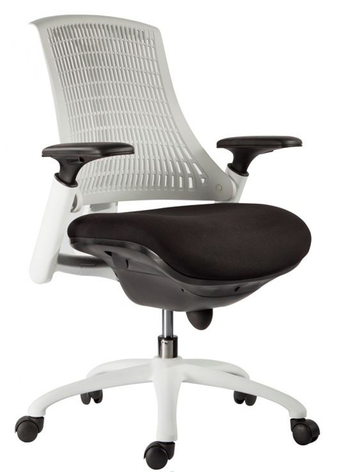 home office modrest innovation modern white office chair