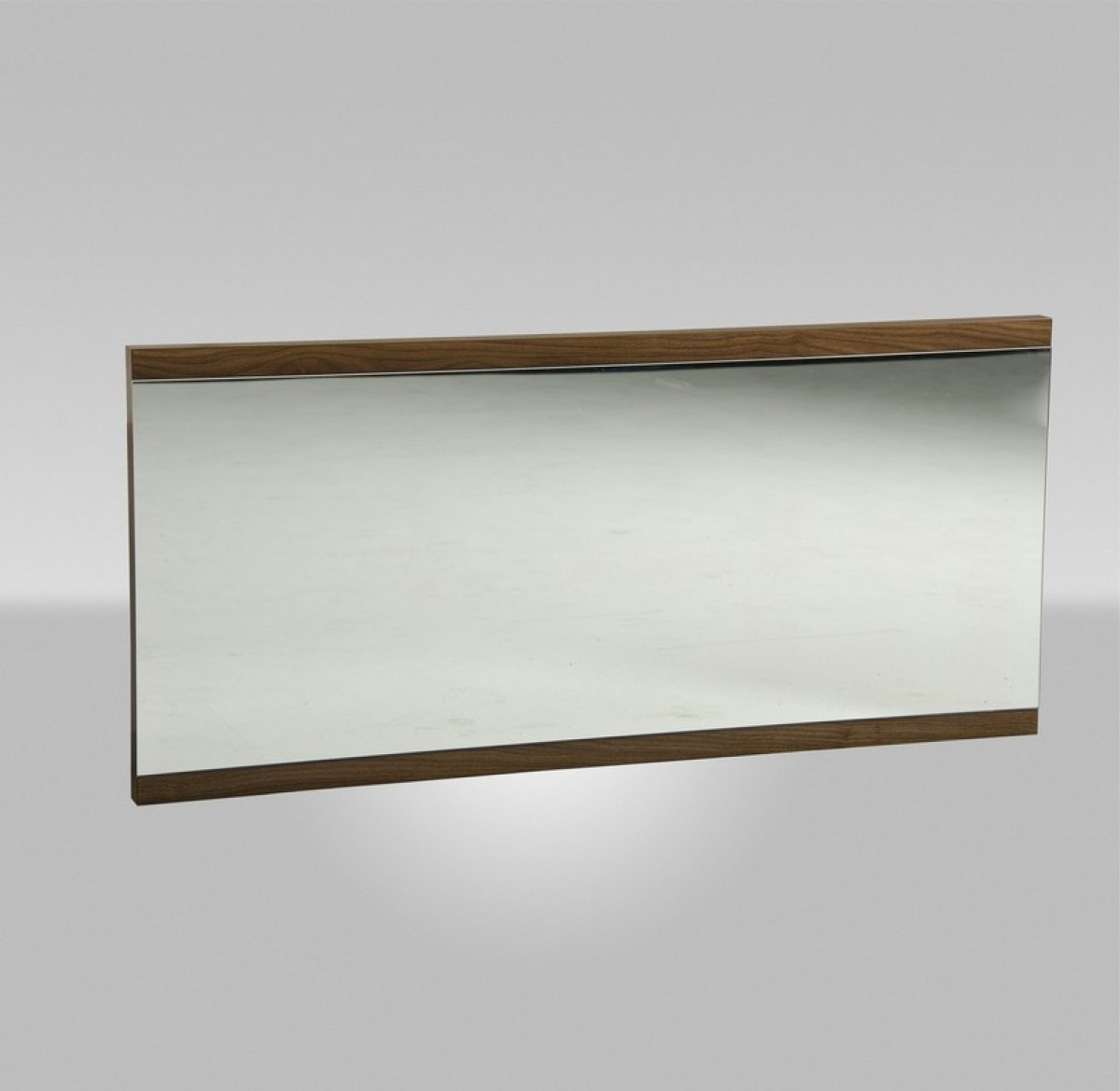 Modrest Rondo Modern Walnut Mirror