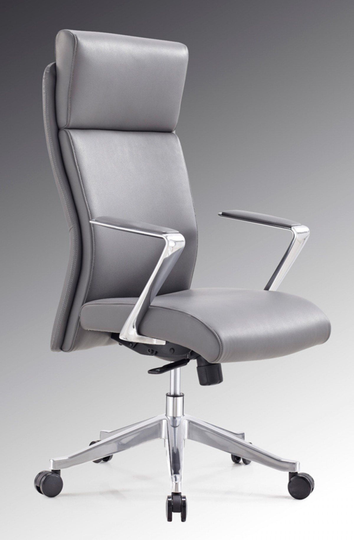office office chairs modrest iger modern grey high back office chair