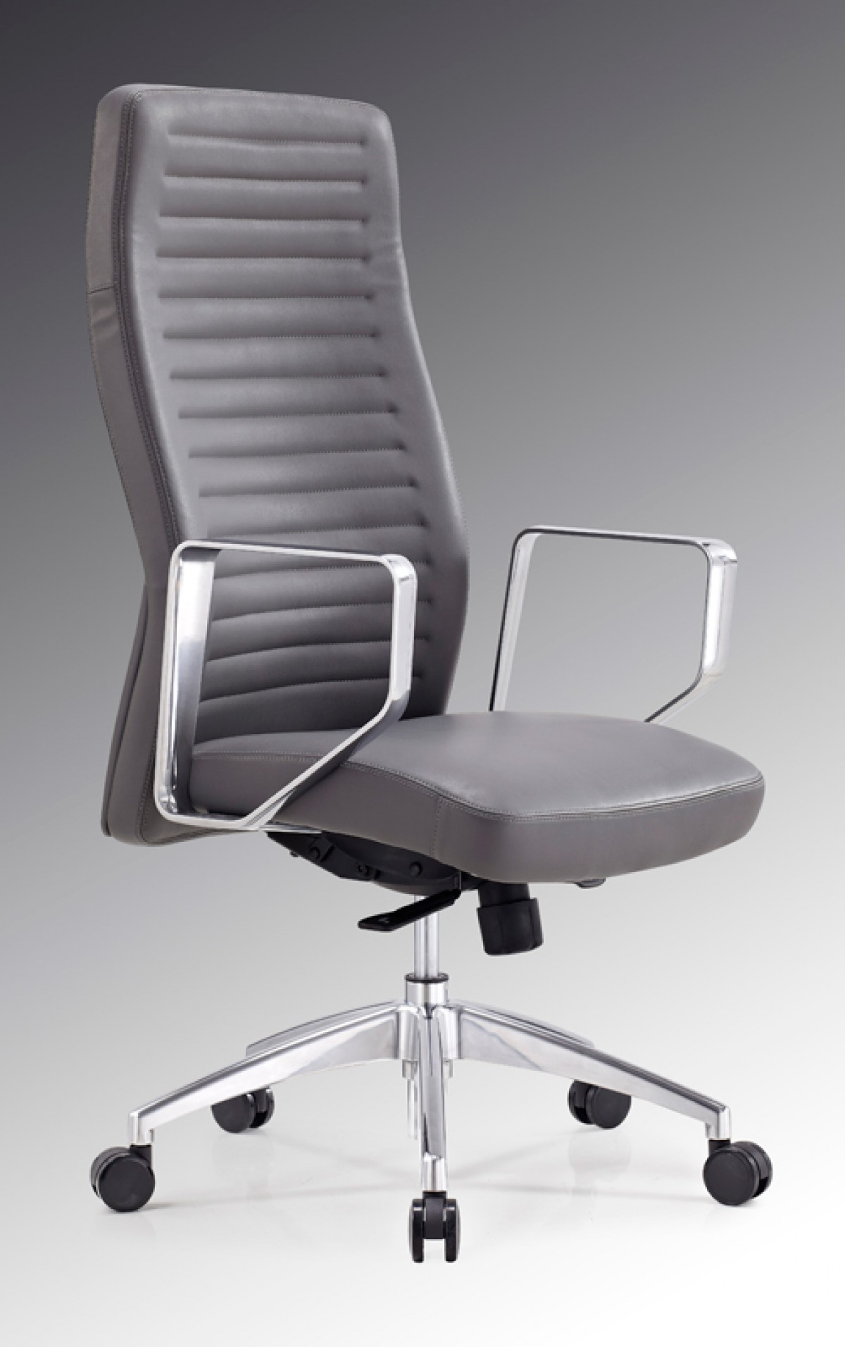 Modrest Barra Modern Grey High Back Office Chair Office Chairs Office