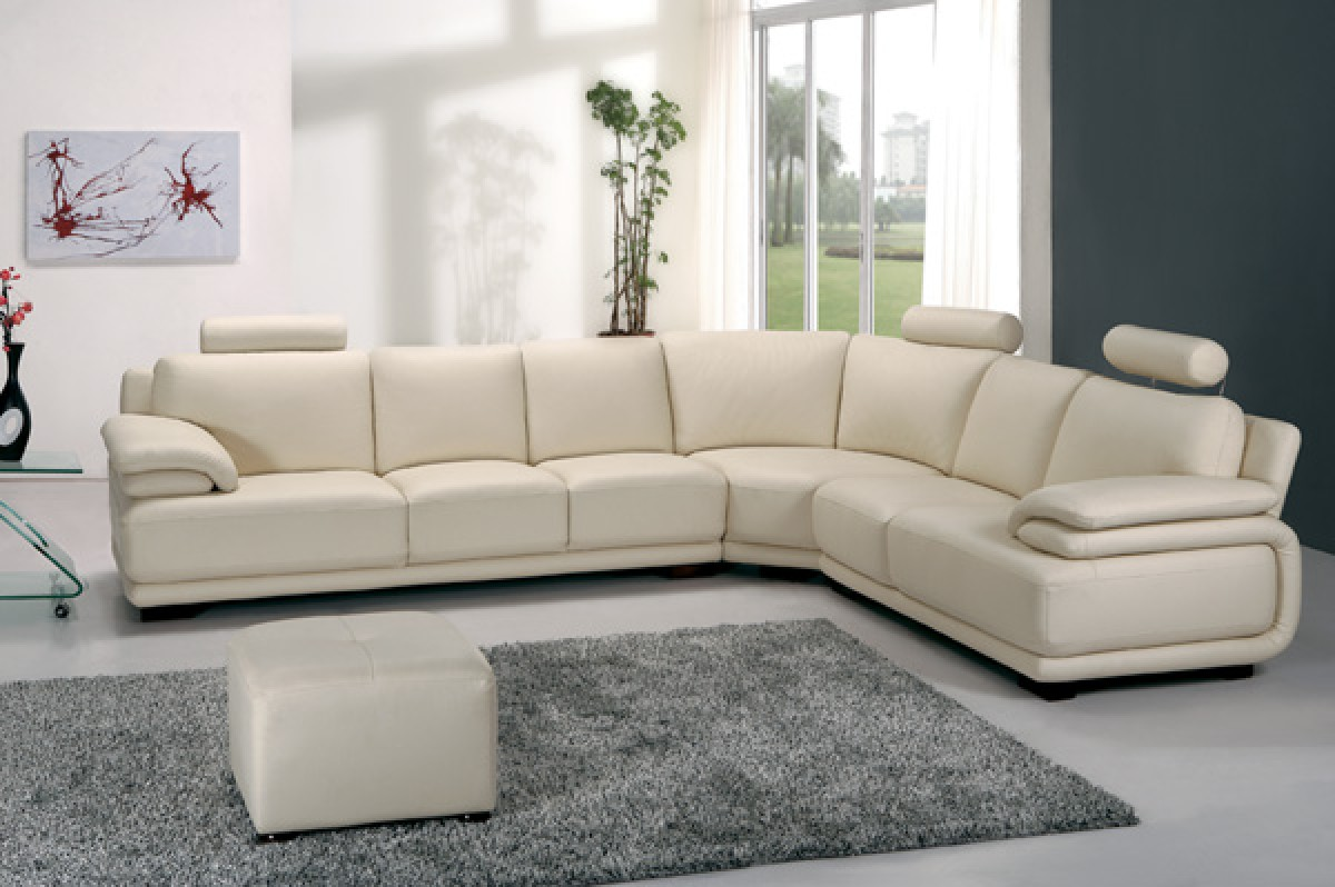 Divani Casa A31   Modern Leather Sectional Sofa ...
