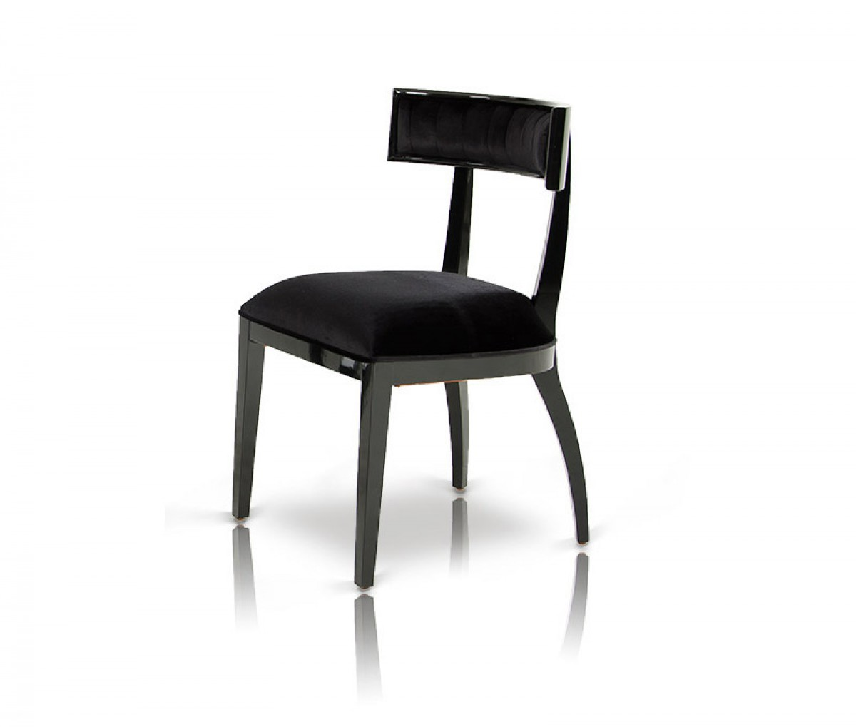 Contemporary Modern Dining Chairs: Modern Black Dining Chair (Set Of 2)