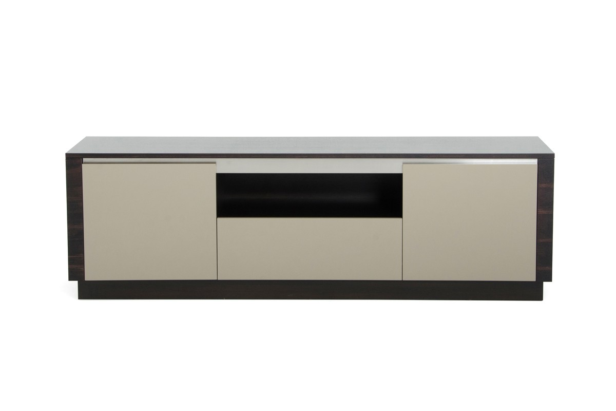A x caligari modern oak grey gloss tv stand for Table tv moderne
