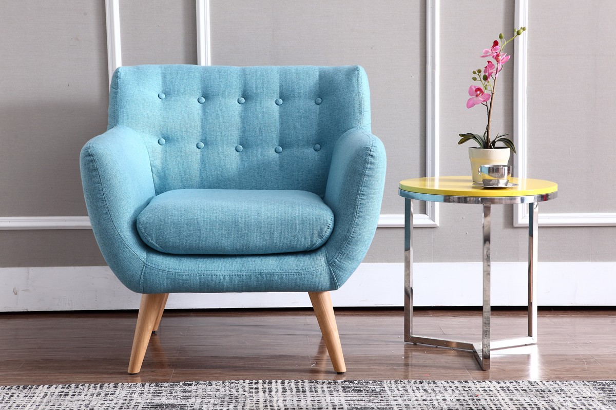 Blue accent chair decoration engaging cheap accent chairs for Modern living room chairs cheap
