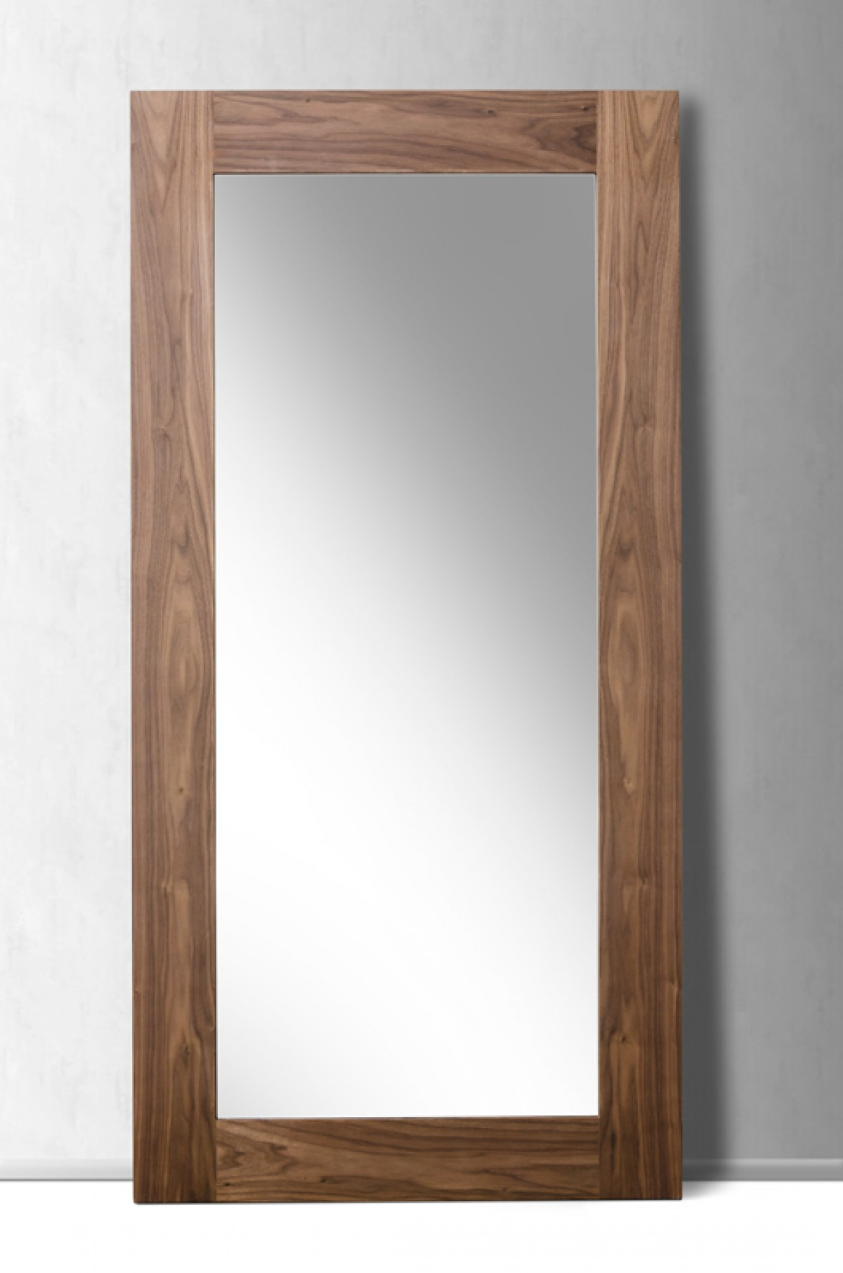 by white finish home dp amazon wooden mirror free ehomeproducts com mirrors cheval standing bedroom floor kitchen