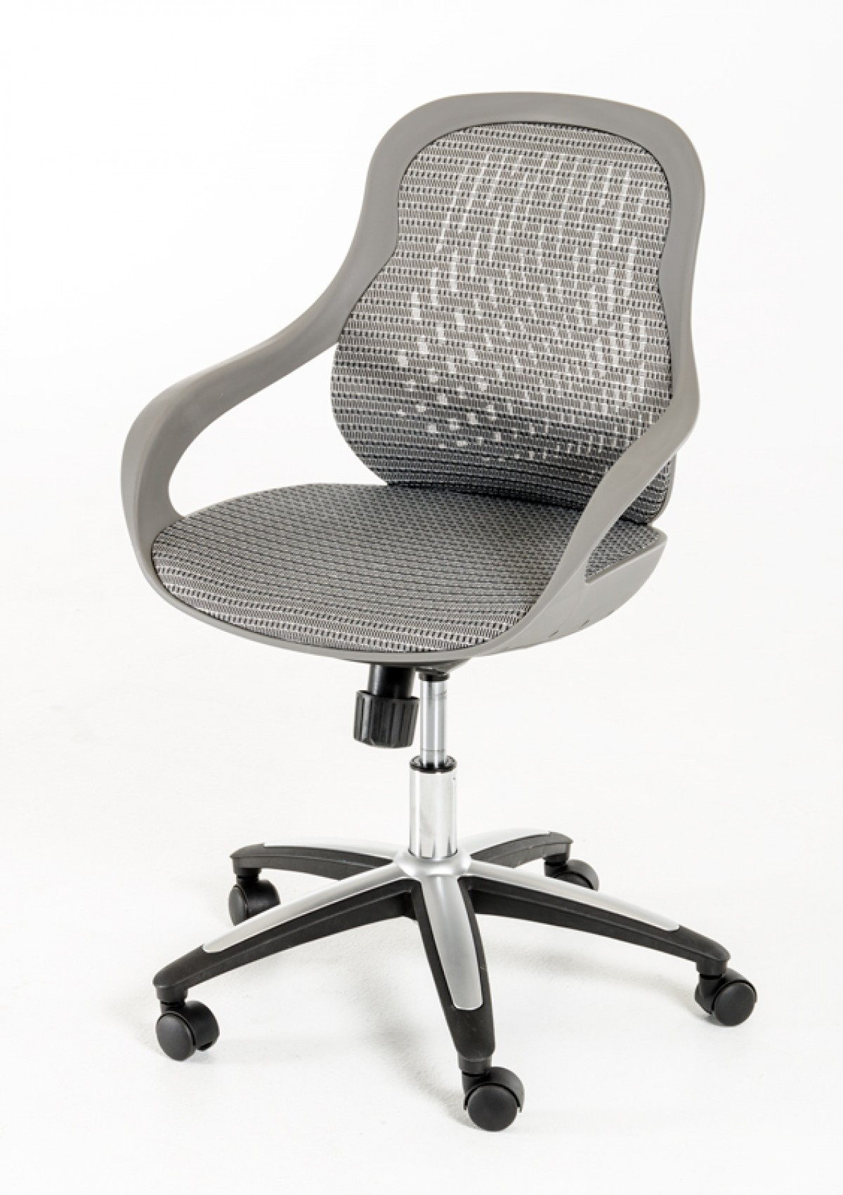 home office office chairs modrest claudia modern grey office chair