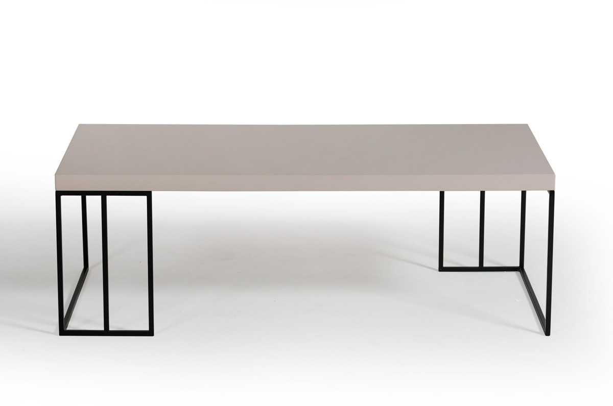 modrest hope modern grey gloss coffee table. Black Bedroom Furniture Sets. Home Design Ideas