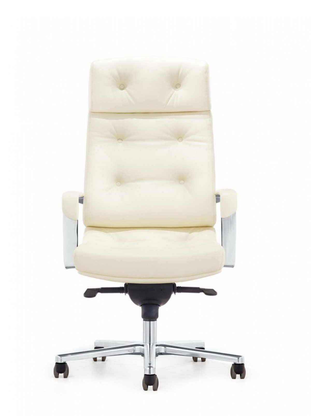 Modrest Forbes Modern White High Back fice Chair fice Chairs