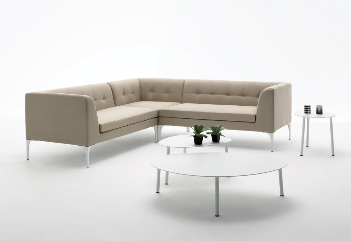 Icaria Outdoor Beige Sectional Sofa