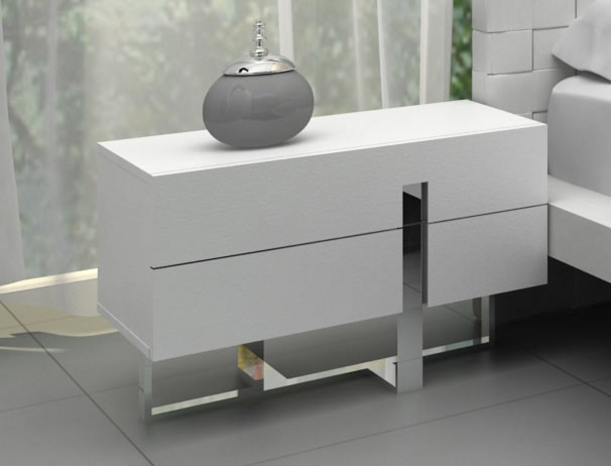 modrest voco modern white bedroom dresser