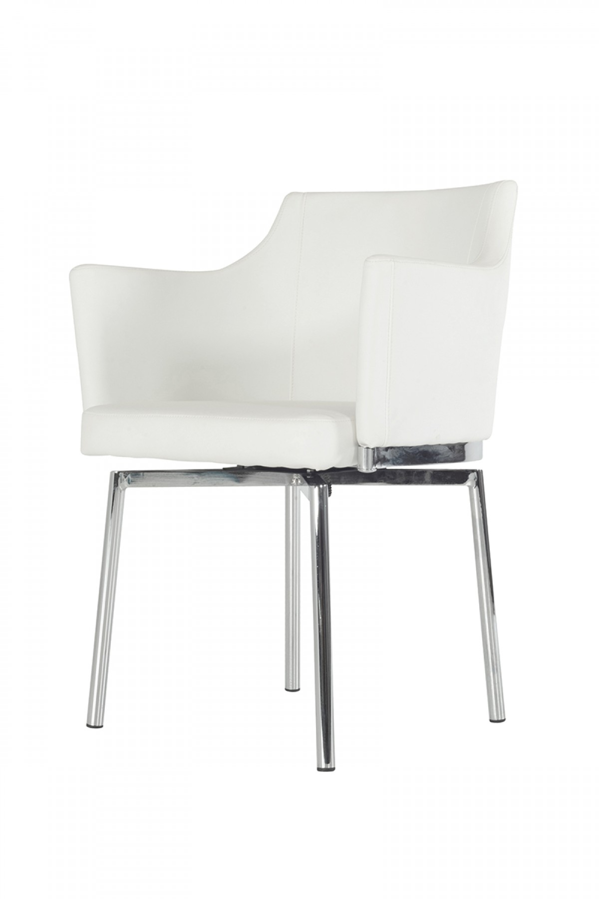 Modrest Kaweah Modern White Dining Chair Dining Chairs