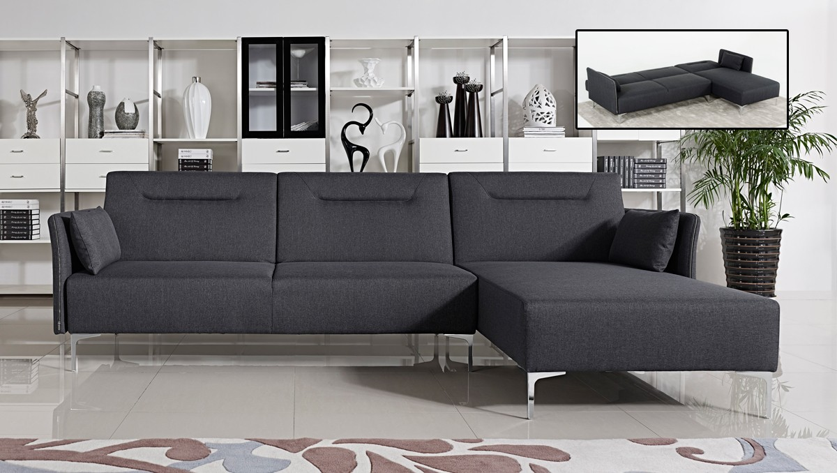 sofa design sectional item zella with grey facing b left ashley charcoal chaise by number signature arm products