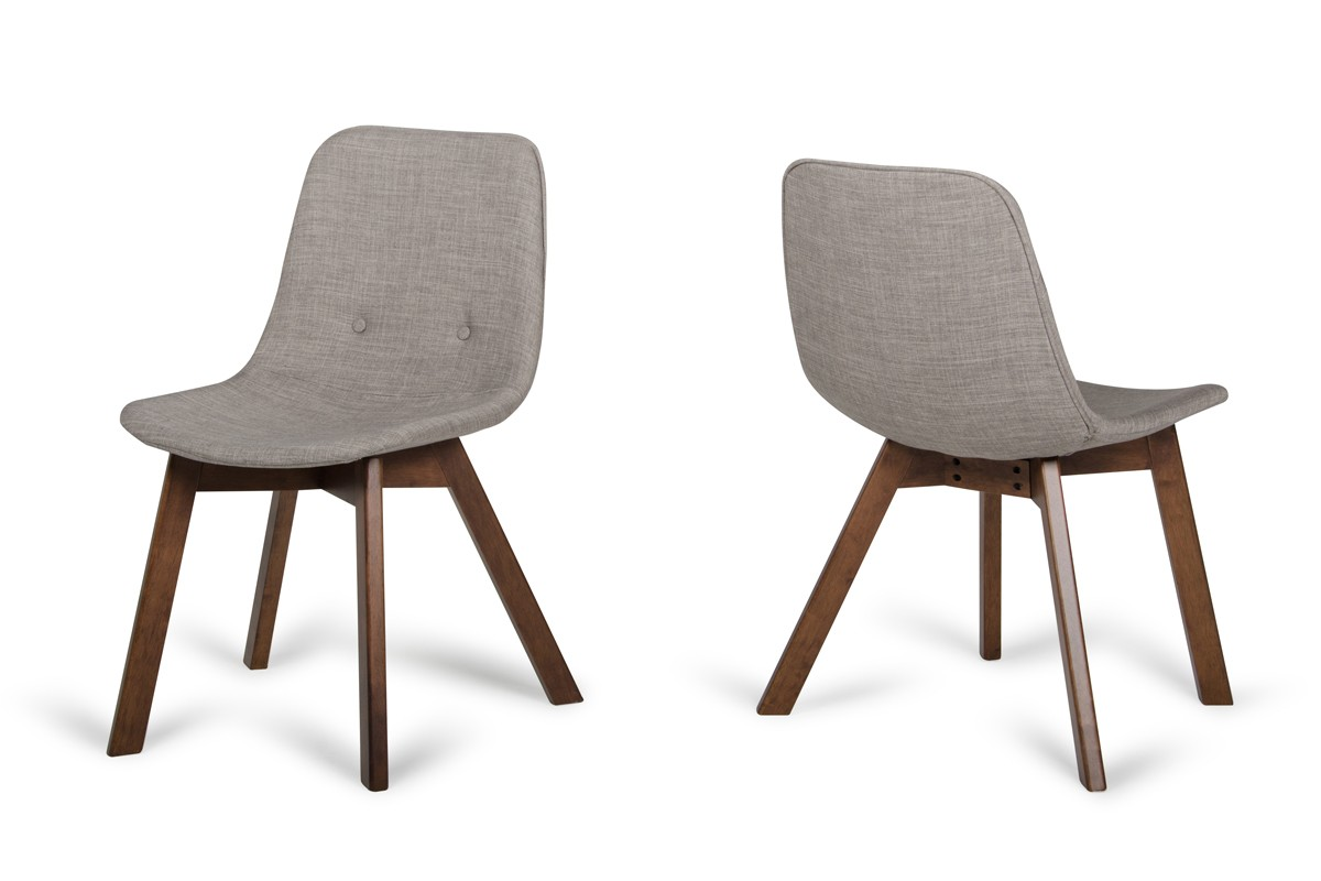 Laken   Modern Sesame U0026 Walnut Dining Chair (Set Of 2)