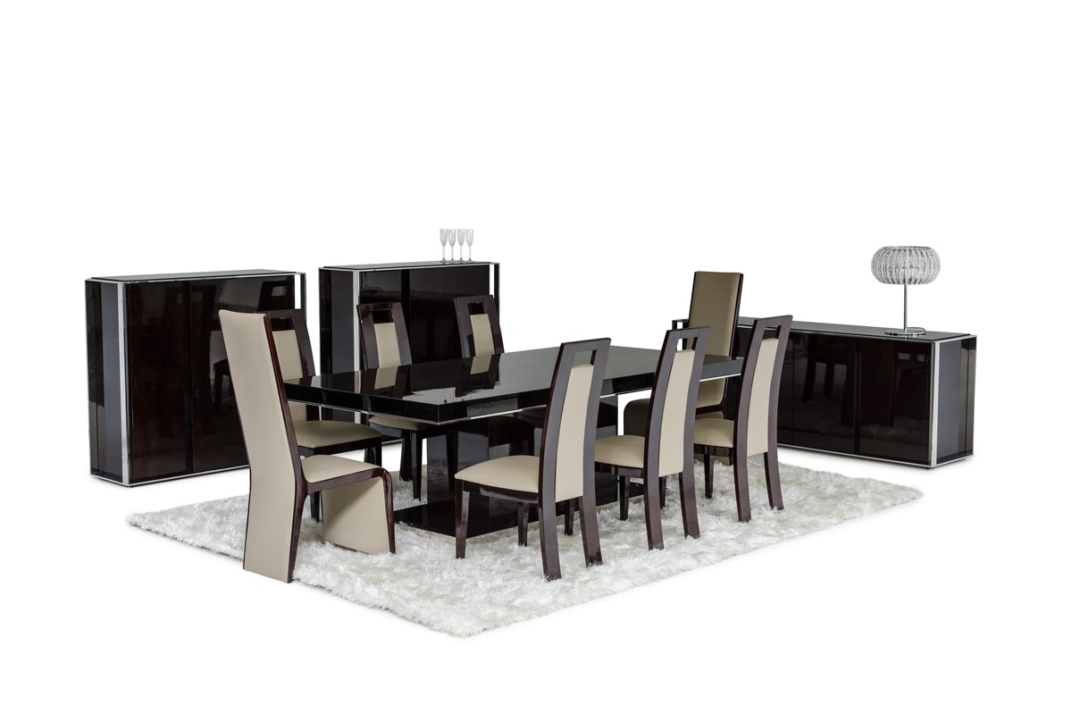 Modrest Le Modern Lacquer Dining Table Vig Premium