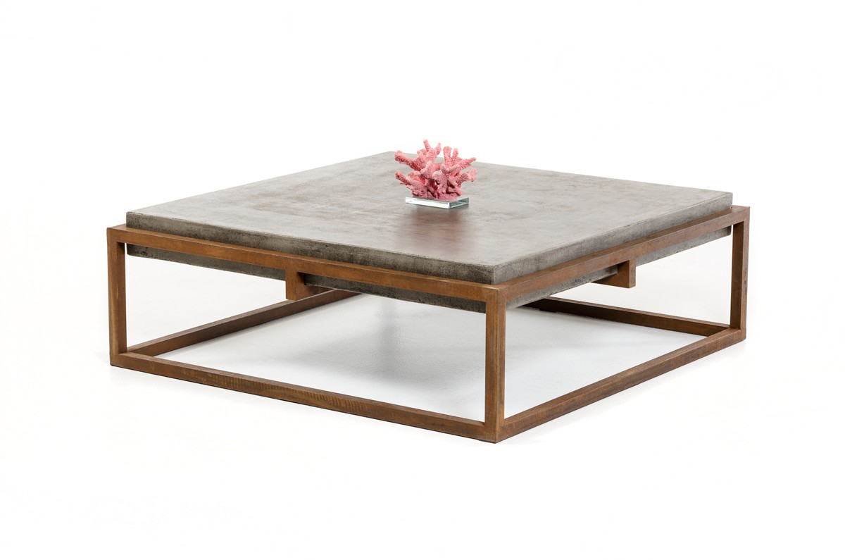 Home Collections Urban Modrest Shepard Modern Concrete Coffee Table