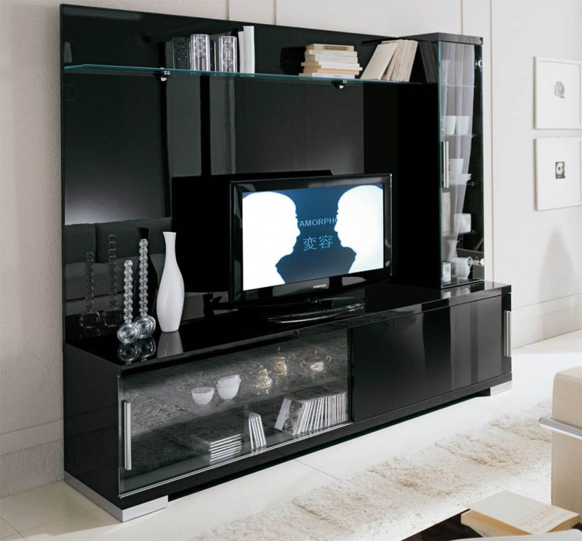 Modern Furniture Entertainment Center entertainment centers from vig furniture