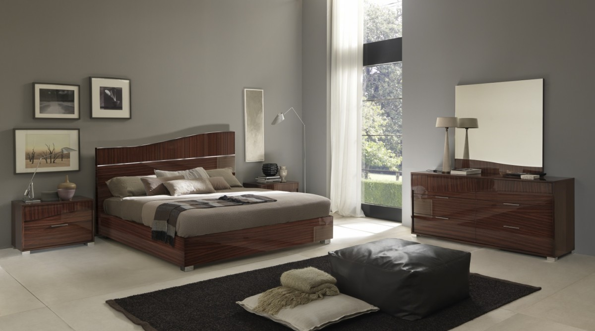 Modern Luxurious Made In Italy Bed