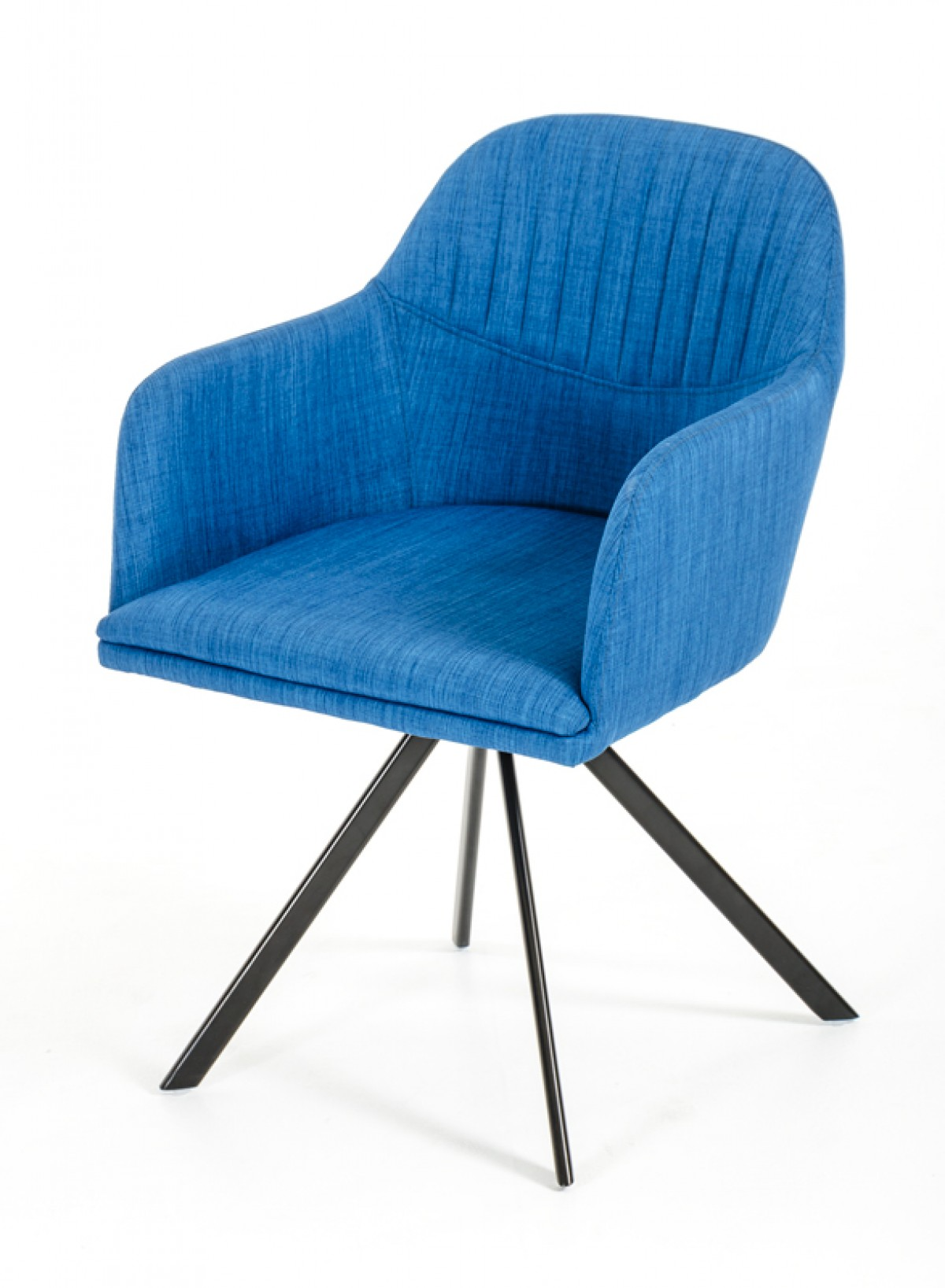 Modrest Synergy Modern Blue Fabric Dining Arm Chair : synergyblue02dsc9247 from www.vigfurniture.com size 1200 x 1635 jpeg 187kB