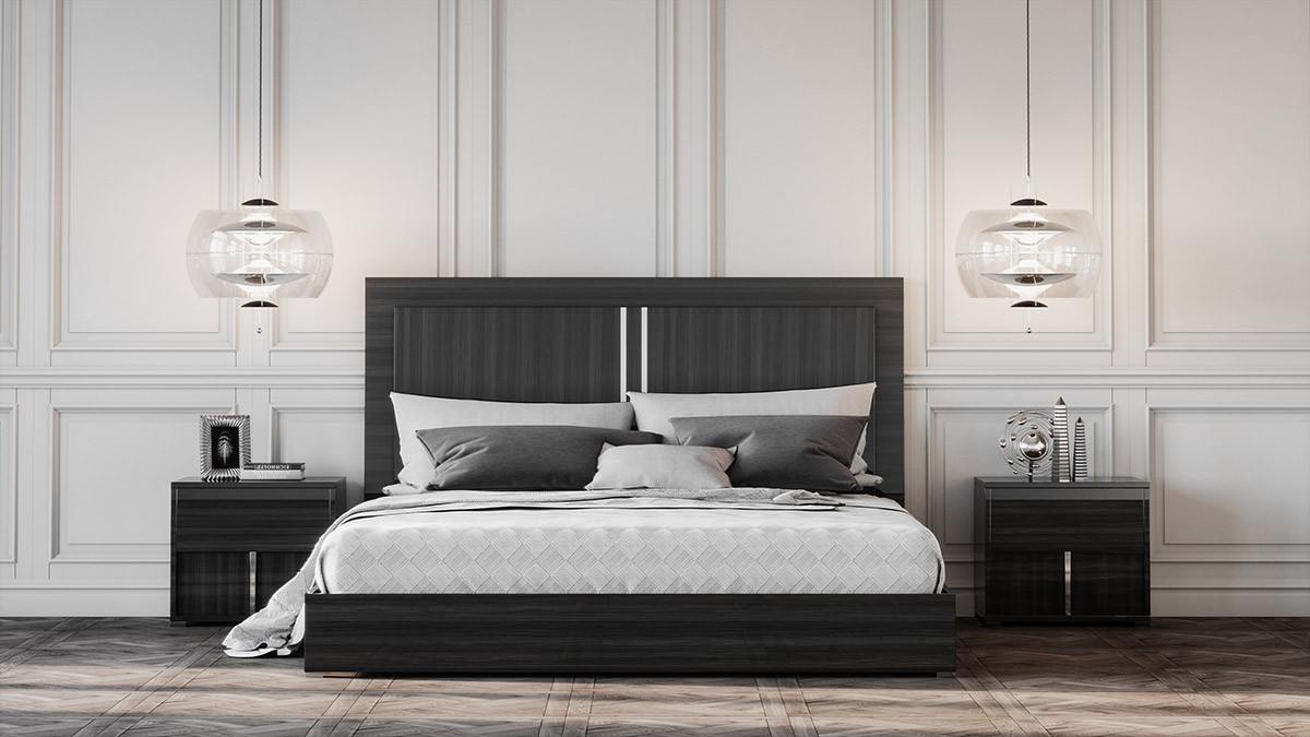modrest ari italian modern grey bed 12460 | tanya shop the look 3d rendering render ari bed bedroom set nova domus 2 hi rez 10 2017 1