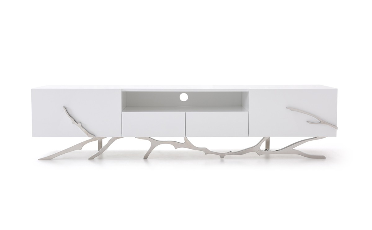 Modrest Legend Modern White TV Stand ...