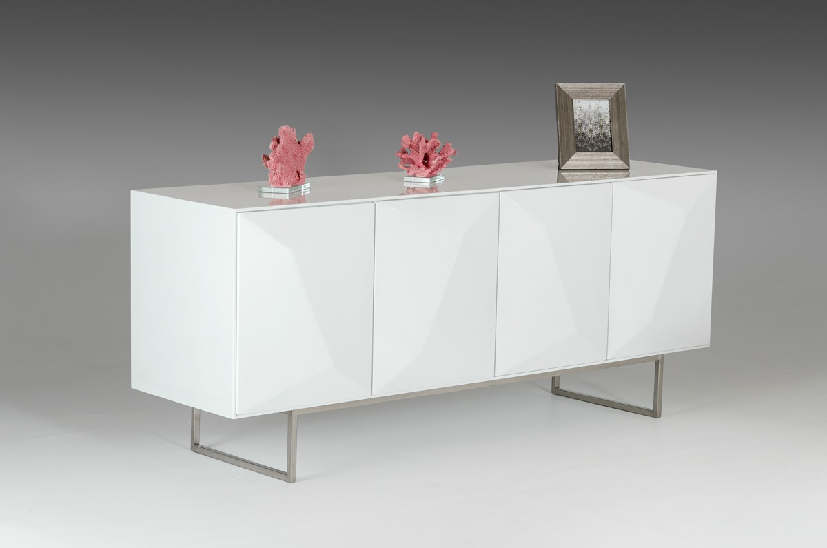 Modern White Buffet