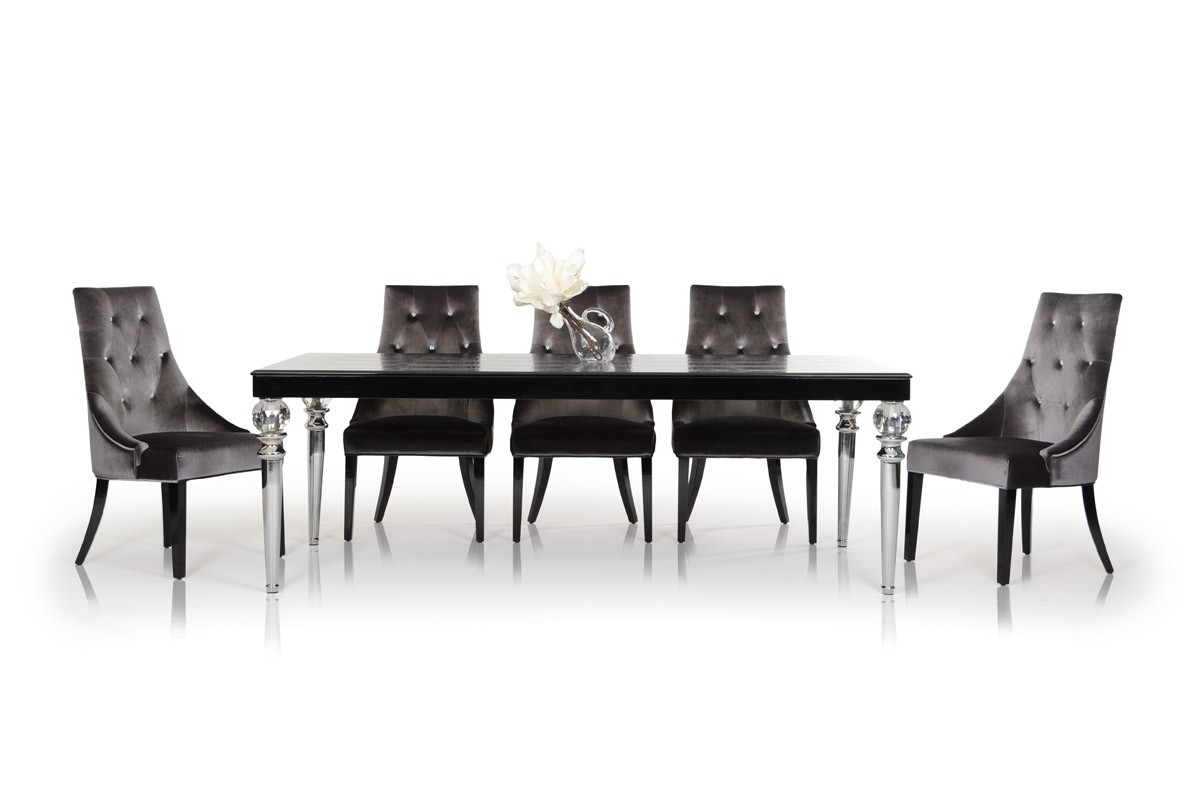 black crocodile lacquer dining table modern dining dining