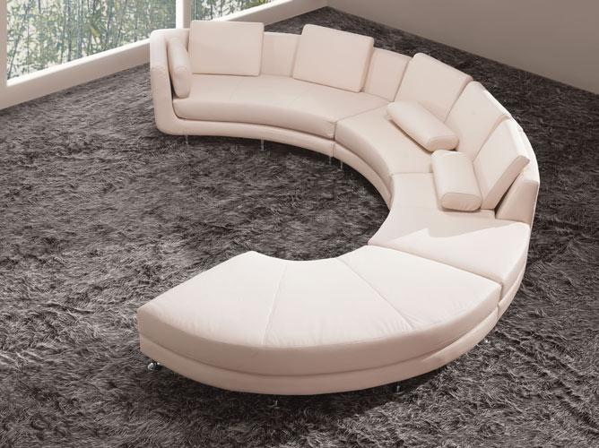 S Shaped Sectional Sofa Hereo