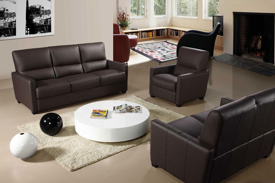Bella Italia 641 Full Italian Leather 3 Piece Reclining Sofa Set & Modern Furniture Sacramento - Modern furniture for your ... islam-shia.org