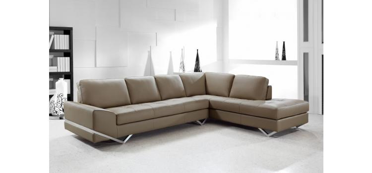 Vanity - Latte Modern Sectional
