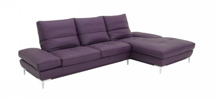 Dahlia (1307) Purple Sectional Sofa Set