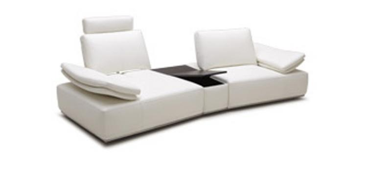 Modern Single Sofa with Reclining Back rests