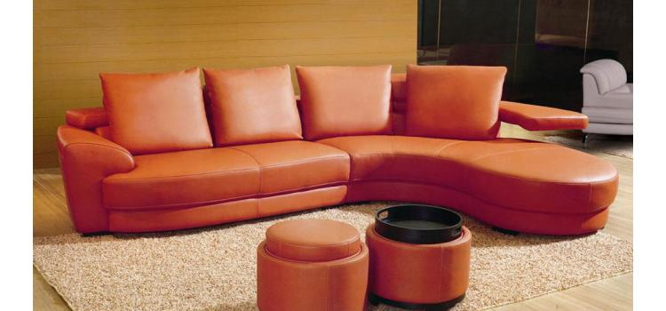 EV 3338 - Sectional Sofa with 2 Ottomans
