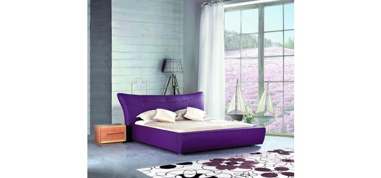 B350 - Modern Eco-Leather Bed