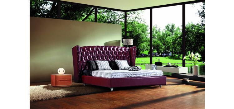 500R - Transitional Eco-Leather Bed