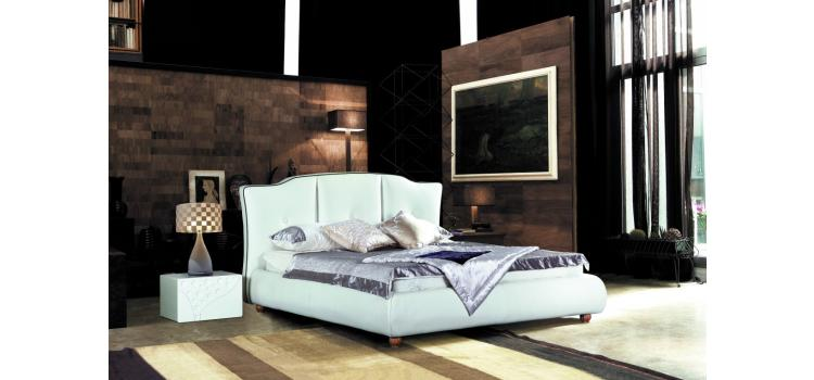 701X - Transitional Eco-Leather Bed