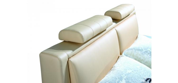 702X - Modern Eco-Leather Bed